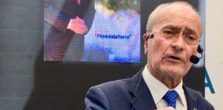 El alcalde y candidato a revalidar la Alcaldía, Paco de la Torre.