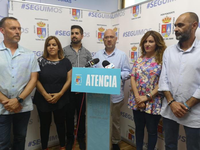 El portavoz del Grupo Independiente, Jesús Pérez Atencia, ha hecho balance en la mañana de este lunes de los resultados de las elecciones locales de este pasado lunes.