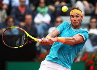 Rafael Nadal en el torneo de Roma.