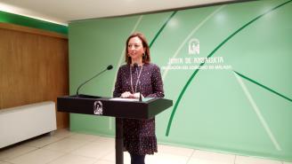 La delegada del Gobierno en Málaga, Patricia Navarro.