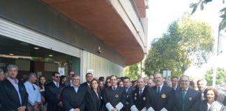 El decano del Colegio de Abogados de Málaga, Francisco Javier Lara, afirma que toda la ciudadanía debe participar en esta reivindicación para mejorar el servicio público de Justicia.