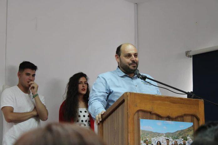 Jiménez Ruiz es concejal del Ayuntamiento de El Borge y una persona con una gran trayectoria política socialista.