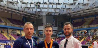 El taekwondista veleño, perteneciente al CD Monfrino, estuvo representando a Andalucía en la categoría Junior -45KG.