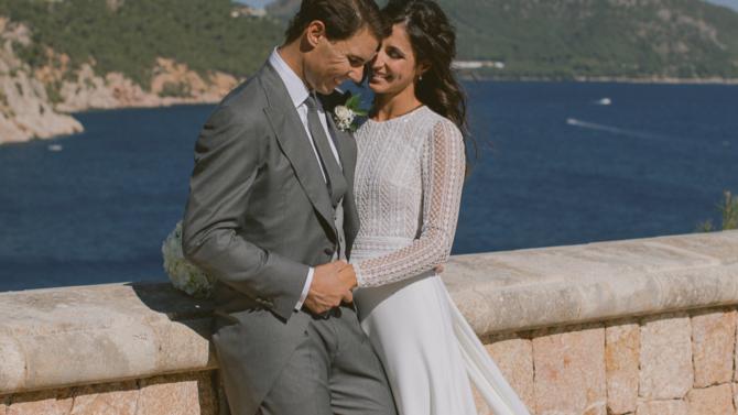 Estas son las fotos de la boda de Rafa Nadal y Mery Perelló