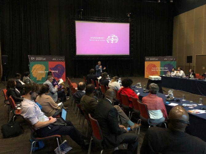 El alcalde de Rincón de la Victoria participa en la Cumbre Mundial de Líderes Locales y Regionales celebrada esta semana en la ciudad sudafricana de Durban - Diario Axarquía