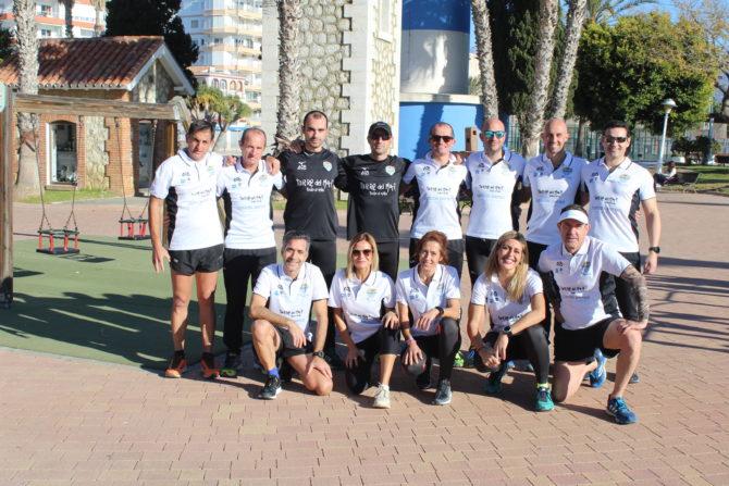 El Playas de Torre del Mar se postula como embajador del Brooks Run Happy Team en la Axarquía