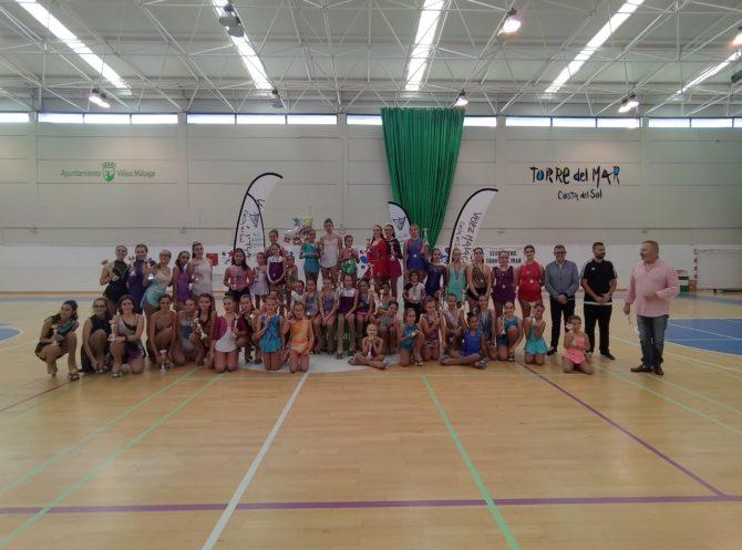 Más de 180 participantes en el Campeonato Provincial de Patinaje Artístico celebrado en Torre del Mar