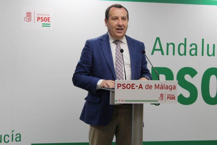 El secretario general del PSOE de Málaga. José Luis Ruiz Espejo.