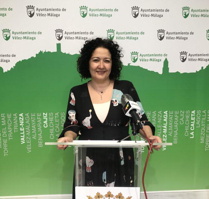 La concejala de Participación Ciudadana, Cynthia García.