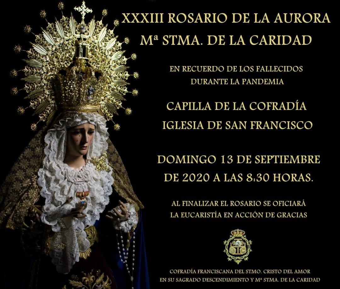 XXXIII ROSARIO DE LA AURORA VIRGEN DE LA CARIDAD 2020.