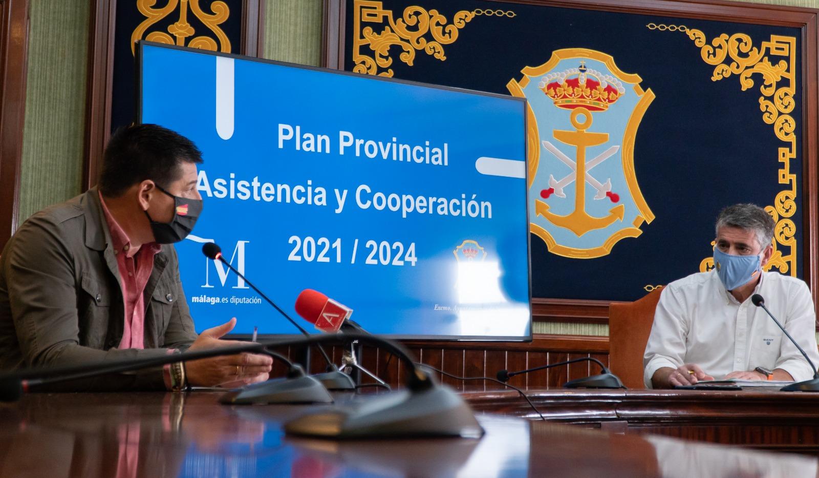La Diputación incluye a Nerja en el Plan de Asistencia y Cooperación