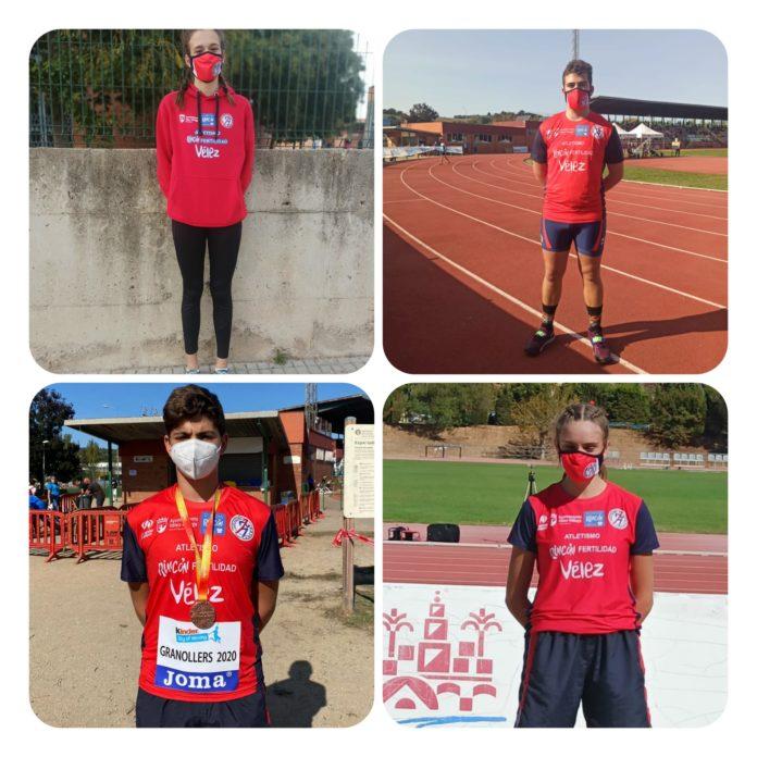 Javi Guerra, Rafa García, María Moreno y Andrea Arnold cosechan buenos resultados en la prueba deportiva con la participación de 500 atletas, bajo estrictas medidas sanitarias por la covid19.