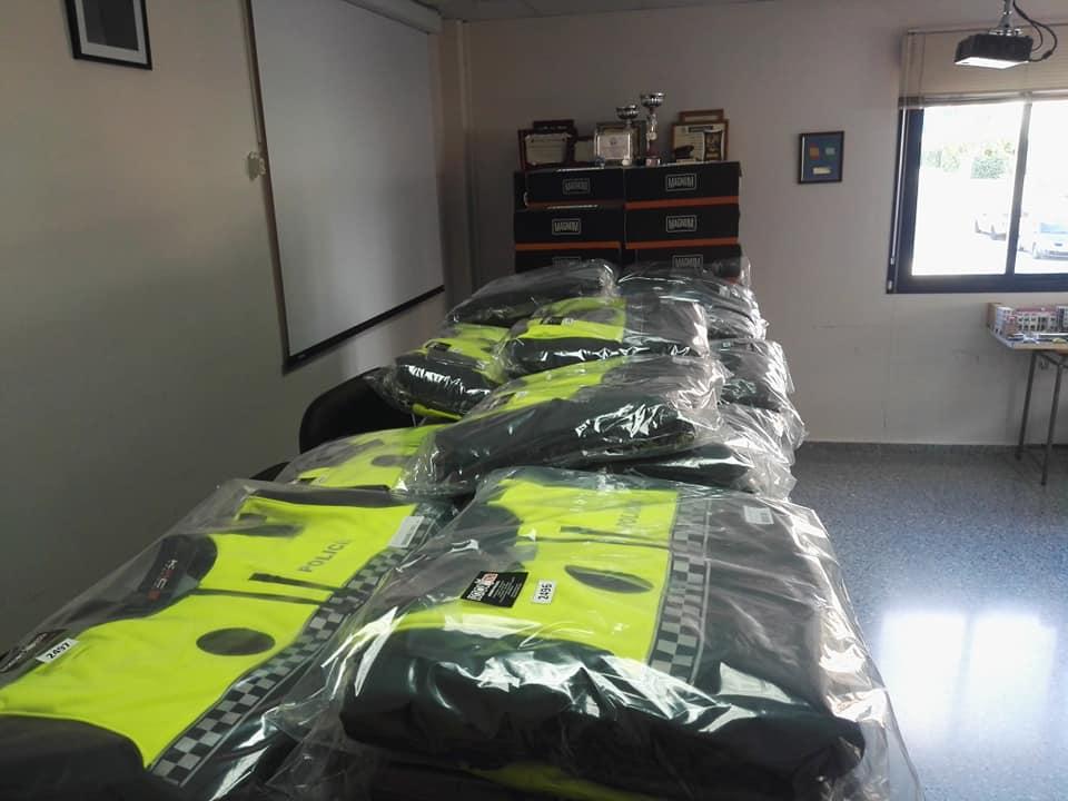 Renovación anual de vestimenta y materiales para la Policía Local de Rincón