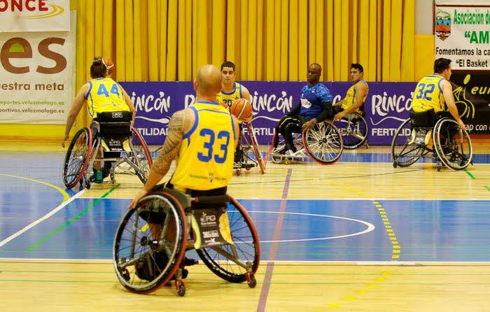 baloncesto silla de ruedas