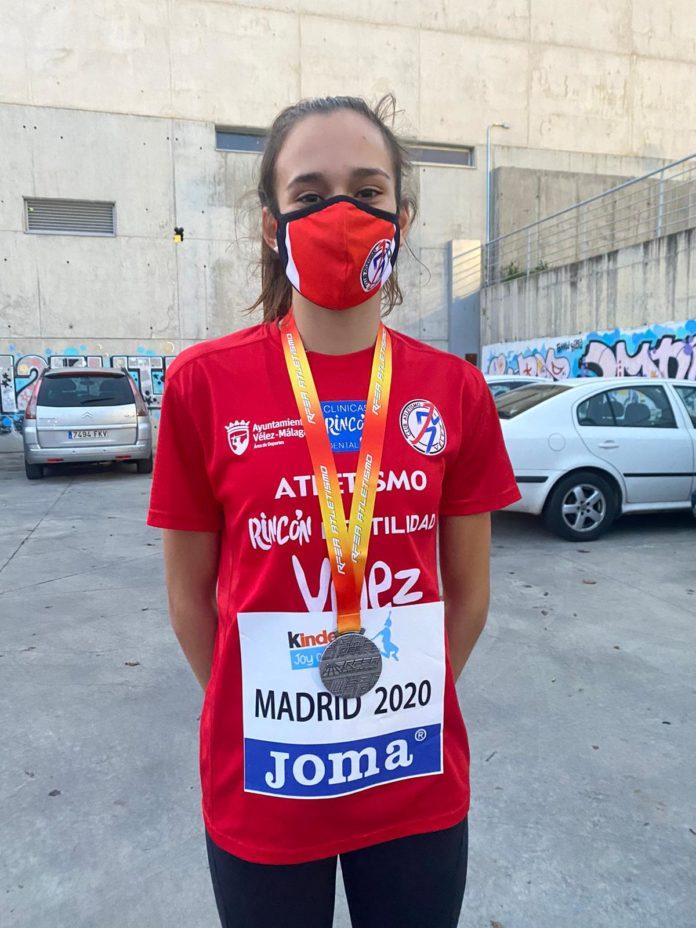 María Moreno, entrenada por Carlos Gámez, consiguió pasar a la final de forma brillante con la segunda mejor marca de todas las participantes.