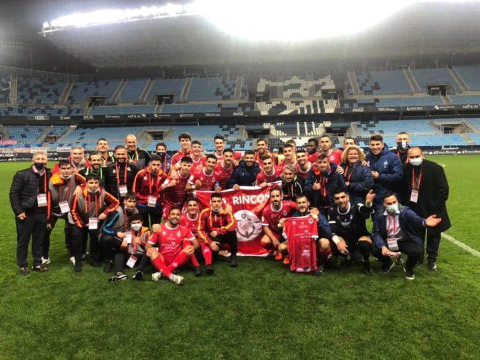 Los del CD Rincón terminan su sueño de la Copa del Rey