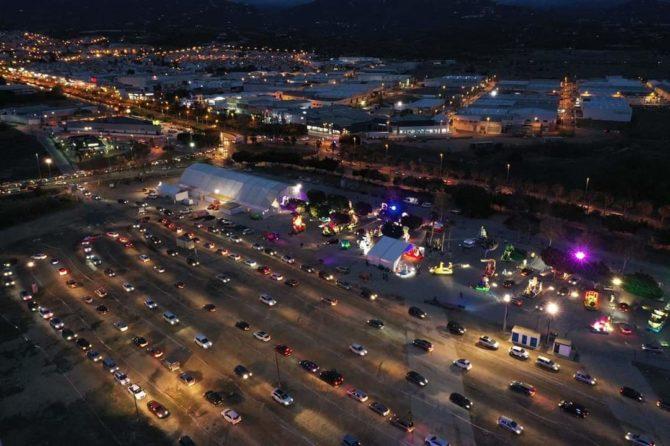 Unas 20.000 personas disfrutan de la cabalgata estática de Vélez-Málaga