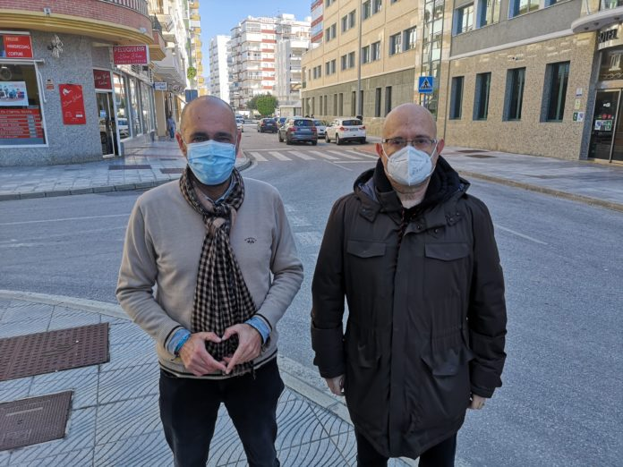 Pérez Atencia y García han visitado las obras.