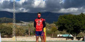 medallas de plata en el nacional de lanzamientos largos para el Atletismo Vélez-Málaga