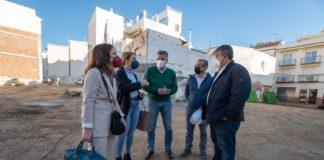 Visita a las obras del Centro Giner de los Ríos de Nerja.