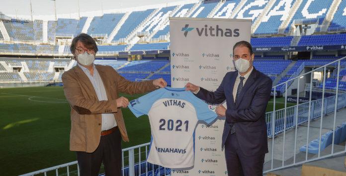La relación entre el Málaga CF y Vithas comenzó en el 2016