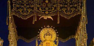 La talla mariana de la Virgen de la Caridad, que posiblemente tenga más de 200 años de antigüedad, fue restaurada por última vez en 1982 por el imaginero malagueño Pedro Pérez Hidalgo.
