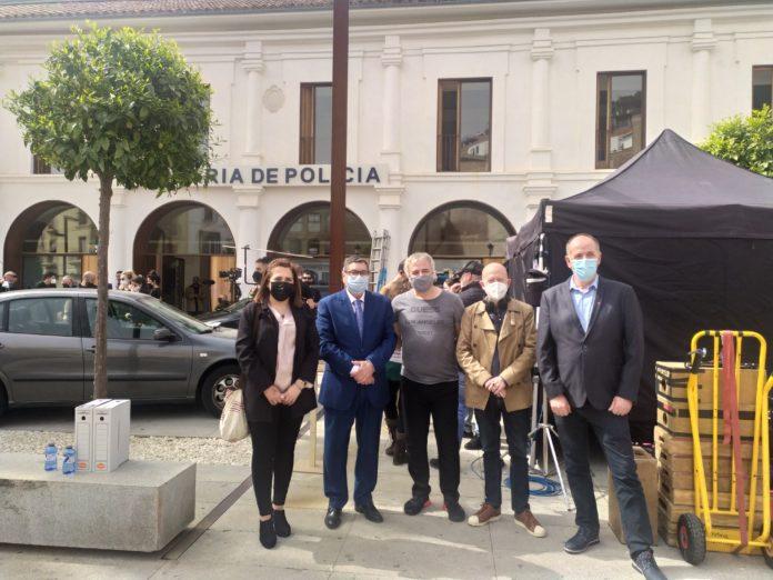 Rodaje de la serie Toy Boy en Vélez-Málaga