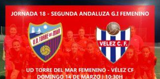 Fútbol femenino Vélez-Málaga y Torre del Mar