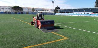 El Ayuntamiento acomete mejoras en las instalaciones deportivas de Nerja