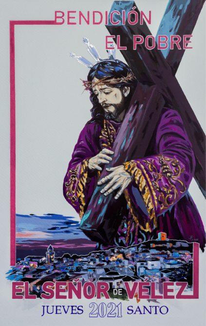 Presentado el cartel de la Bendición de Jesús 'El Pobre' de Vélez-Málaga