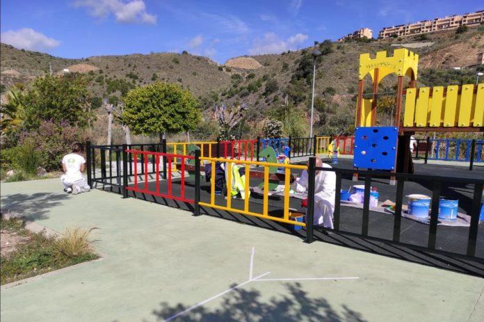 Reapertura de las zonas infantiles de Rincón de la Victoria