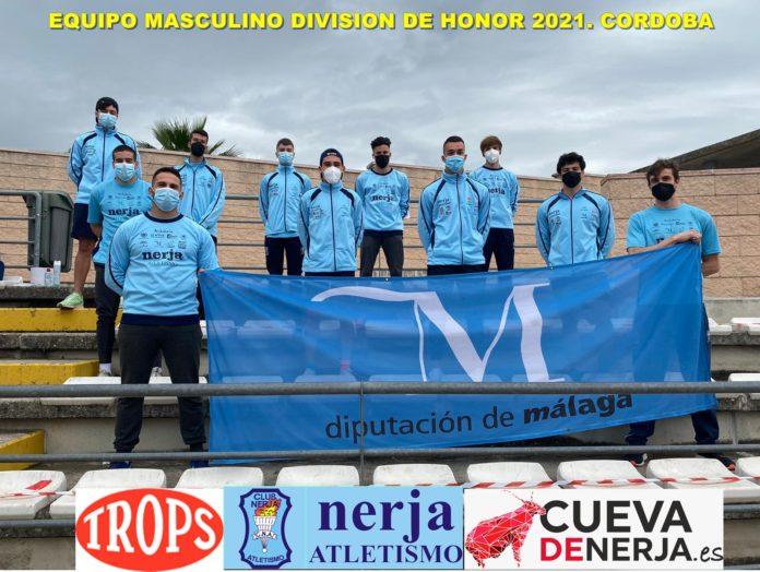 El atletismo Nerja, segundos en sus encuentros de la primera jornada de División de Honor .
