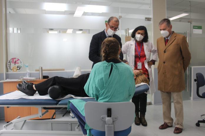 La inversión, incluida en el Plan de Infraestructuras Sanitarias de la Consejería de Salud y Familias, ha supuesto un total de más 573.000 euros