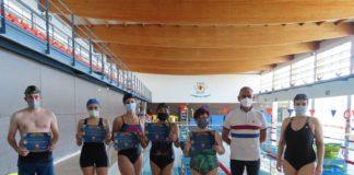 Entregados los diplomas de Natación en Nerja (Axarquía-Costa del Sol)