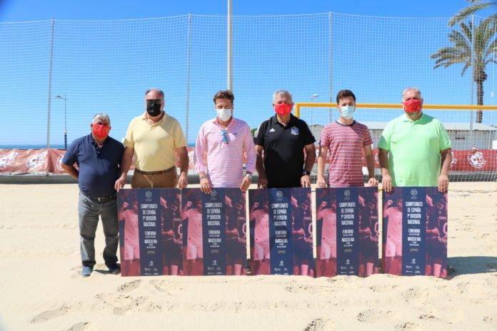 La Real Federación Española de Fútbol Playa elige Torrox, en la Axarquía-Costa del Sol