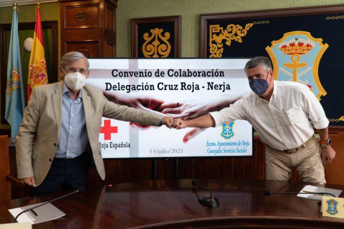 Cruz Roja y Ayuntamiento de Nerja trabajarán por los más desfavorecidos.