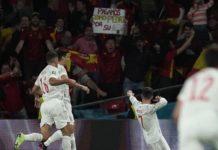España hizo buen fútbol ante Italia.