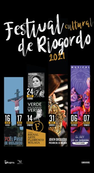 Cartel Festival Cultura en Riogordo (Málaga - Axarquía)