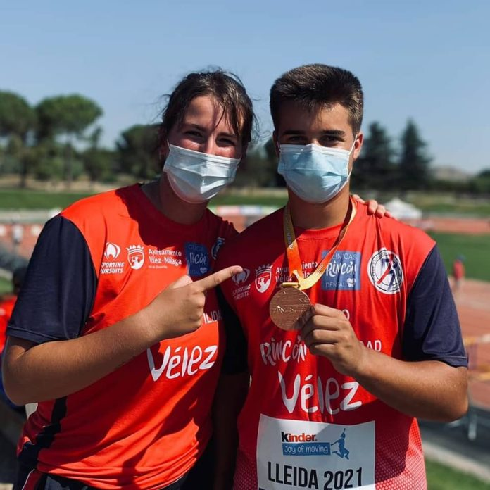 El atletismo veleño logra varias medallas en elAtletismo sub16