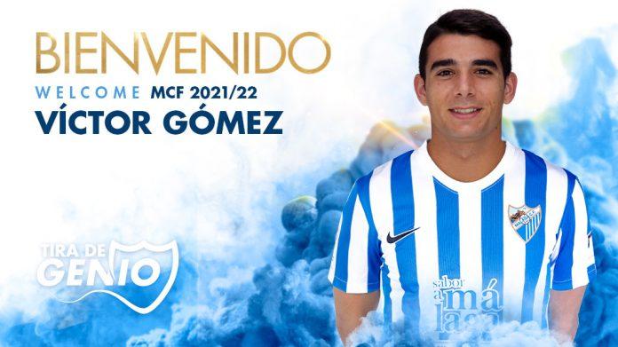 Víctor Gómez Perea aterriza en el Málaga