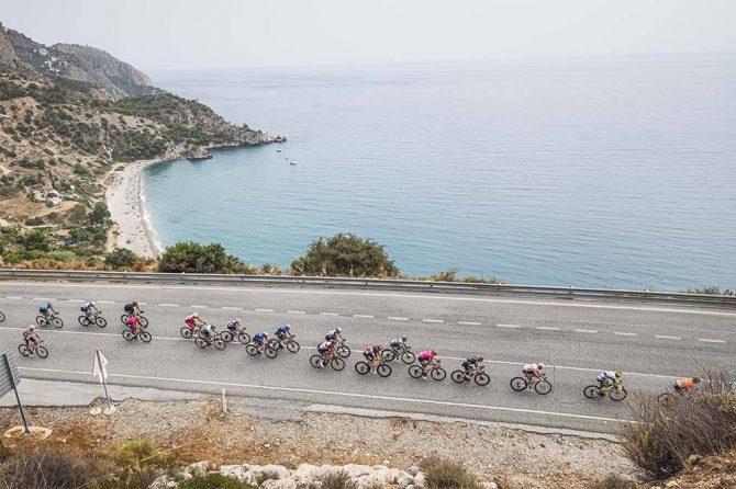 Vuelta Ciclista en la Axarquía malagueña