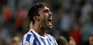 El lateral diestro llegó, entrenó, debutó y jugó como si llevara toda la vida en el Málaga CF.