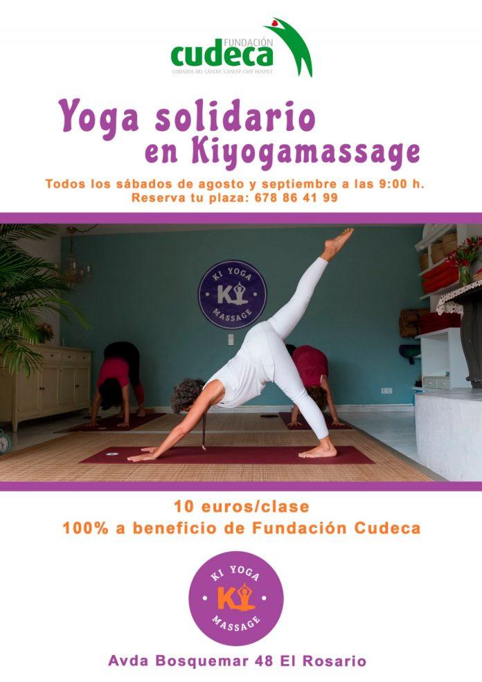 aportación solidaria de 10 euros por persona, íntegramente destinada a los cuidados de la Fundación Cudeca.