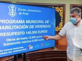El alcalde de Nerja, José Alberto Armijo,ha anunciado la puesta en marcha del V Programa Municipal de Rehabilitación de Viviendas.