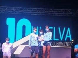 En la prueba femenina ganó con 18 segundos de diferencia la jienense Dolores Chiclana Parril (Cueva de Nerja).