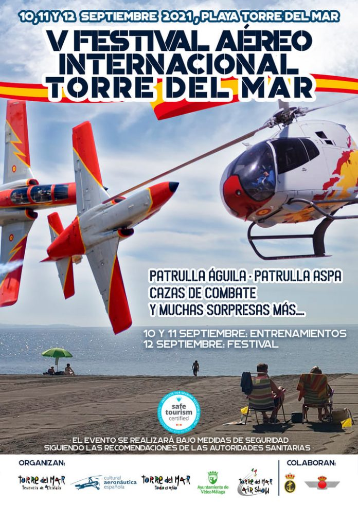 Festival Air Show de Torre del Mar tendrá actividades paralelas.