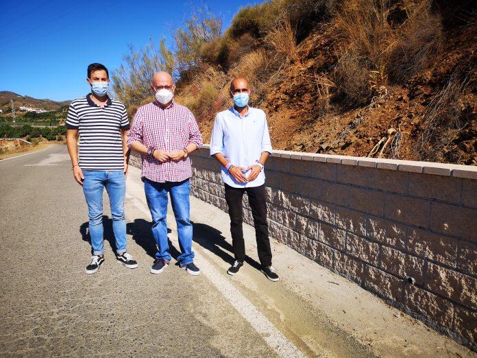 Visita a la carretera entre Cajiz y Los Íberos.