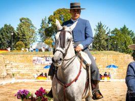 Valverde Galán en la Feria del Caballo de Ciudad Rodrigo celebrada este fin de semana en Salamanca.