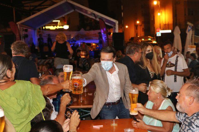 Fiesta de la cerveza en Torrox