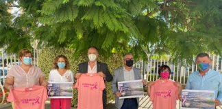 Senderismo a favor de las mujeres con cáncer de mama de la Costa del Sol-Axarquía.
